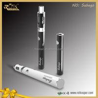 new products 1600mah 40W ego battery 0.1ohm Ni200 Coil SUBEgo TC vape starter kits wholesale vaporizer pen ego ce4