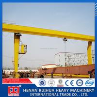 10ton L Model Electric Hoist Gantry Crane for sale