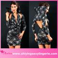 De haute qualité en gros profond de capot extensible mini robe arabe des femmes costume d'halloween