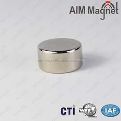 Nickel Coated Rare Earth Magnet Strong N35 Disc Magnet