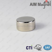 Shenzhen Nickel Coated Rare Earth Magnet N35 Disc Magnet