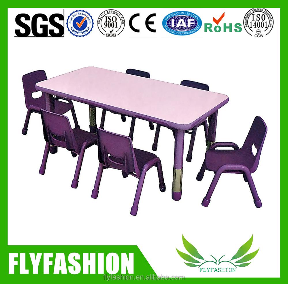 r glable en hauteur pour enfants table et une chaise pour l 39 cole maternelle lots d 39 quipements. Black Bedroom Furniture Sets. Home Design Ideas