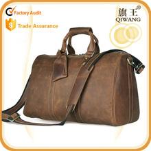 Genuine Leather Weekend Travel handbags Duffle Bags for Men luggage bag