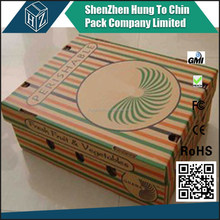 China alibaba promotion custom printing wholesale fruit salad box for packaging
