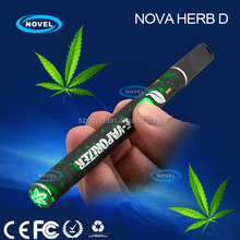 Top selling Wax ceramic coil atomizer disposable e-cig 300mah hemp e cigarette