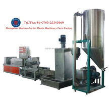 Waste plastic recycling machine for hdpe/ldpe/ppr/po film or granules