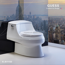 siphonic one-piece toilet/white color toilet K-A11133