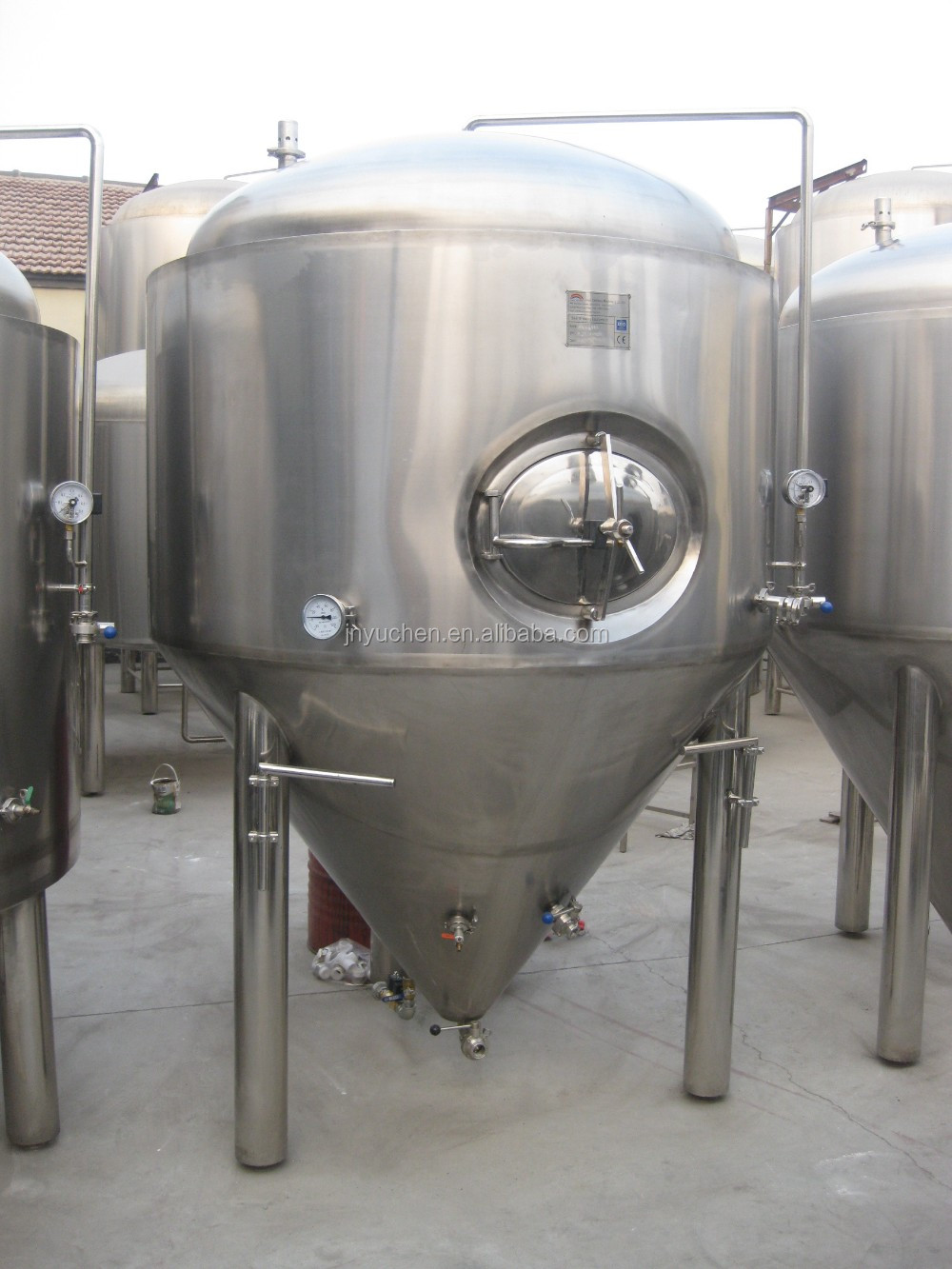 1000L-8000L conical beer fermenter