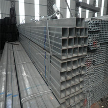 high quality galvanized square steel pipe factory in China
