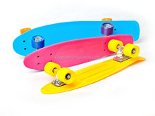 JOY BOLD 2015 New Design 7 ply canadian pro maple wood mini longboard penny board skate board