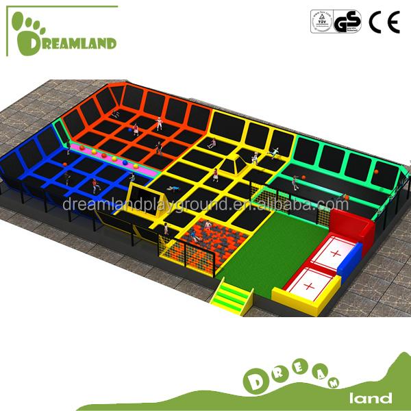Customized indoor trampoline park buy china indoor for Indoor trampoline park design manufacturing