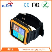 new arrival Media Tek MTK2501 CPU BT watches support multi languages three proofings smart watch