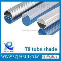 Patent design SMD 2835 high power Aluminum housing/shade/shell/accessories/components T8 led tube light