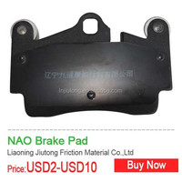 brake pads for Americian car taxi truck with 30000 kms longtime parts for vaz lada