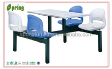 used for canteen table , school canteen furniture , dining table set CT-010D