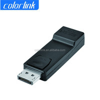 Black Color Displayport Male to HDMI Female Adapter for HDTV PC HG