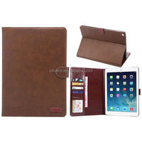 For iPad Air 2 Wallet Protector Case Ultra Thin