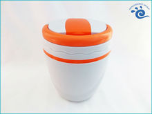 Double Wall Plastic Office Lunch box Keep Food Hot For School