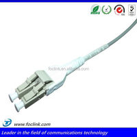 Special boot!!! LC multimode duplex fiber optic connector with 90 degree boot