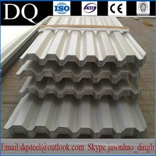 Corrugated sheet metal high wave color roof