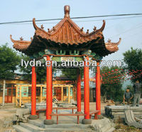 chinese figure tiles asian style roof tiles for square pavilion