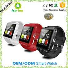 Hot New Products for 2015 smart watch/U watch bluetooth watch Phone