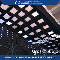 led light prices led panel display ceiling light for disco sky decorate
