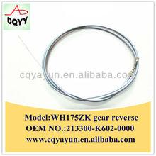 Good performance Chongqing Wanhu three wheel WH175ZK gear reverse cable