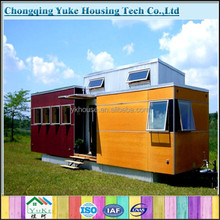 2015 China new style economic flat pack container home for sale