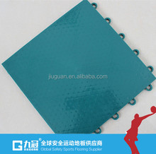 Easy install Basketball Interlocking Floor Tiles, Indoor Fitness / Gym Sports Flooring