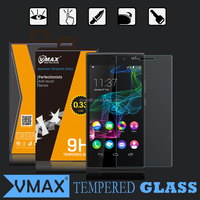 9H Hardness fingerprint resistant explosion proof anti oil cell phone tempered glass screen protector for Wiko Ridge 4G