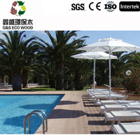 G&S 100% Recyclabe WPC Decking /beautiful looking wpc board,high quality and low price wood plastic composite