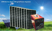 1KW Solar Power System with solar panel / battery / inverter / solar controller