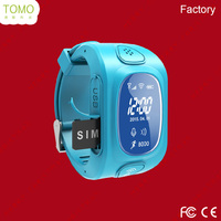 Hot sale gps tracker wrist watch cell phone for child