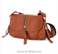 leisure street khaki PU leather lady shoulder bag,weekend outdoor small cross shoulder bag