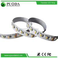 5meters per roll high CRI DC12V DC24V SMD 5050 RGB+W LED Flexible strip with controller