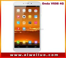 "Onda V698 Aurora 4G tablet pc 6.98"" IPS 1280x720 android 4.3 Marvell 1920 Quad Core 1GB+8GB 2MP+8MP 2G 3G 4G tablets"
