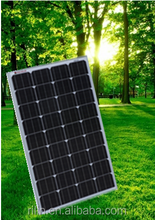High quality low price elaborate process perfect service Chinese 18V 100W mono solar panel