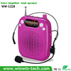 mini portable amplifier speaker with headset condenser microphone