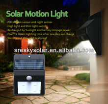 Battery Operated Energy Saving 12 Volt Motion Sensor Light