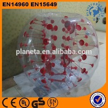 Amazing High Quality Inflatable Sport Game Bubble Ball