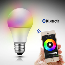 ce rohs ul smart bluetooth auto led lighting bulbs for apple and android application