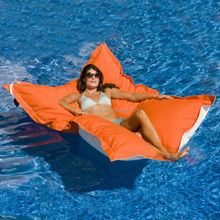 Eco-friendly Fashion And Hot Sale Swimming Pool Floating Stick Water Bean Bag Chaise Lounge