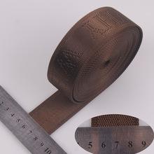 High quality jacquard 3.8cm webbing nylon material China no minimum order