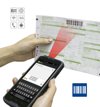 """5"""" rugged photosensitive barcode scanner PDA for Express,Logistics,retailing"""