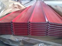 prepainted corrugated steel roofing sheet