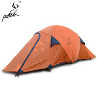 2015 2 Persons Outdoor Camping Tent for Sale / Aluminum Poles High Mountain Camp Tent