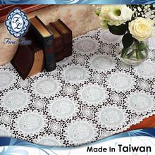 Premium Classical Vinyl Crochet Long Lace Table Cover