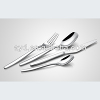 Hotel exclusive stainless steel dinner set