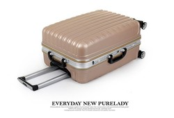 JY327 luggage with removable wheels
